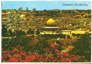 Jerusalem, The Old City, viewed from the Mount of Olives
