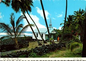 Hawaii Kona Coastline The Blue Church