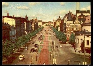 1952 Summer Olympics Helsinki Views of Helsinki Mannerheim Street