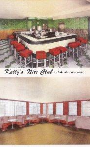 Wisconsin Oakdale Kelly's Nite Club sk3547