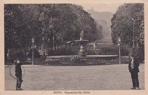 BONN, North Rine Westphalia, Germany, 1900-1910's; Poppelsdorfer Allee