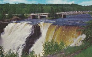 KAKABEKA FALLS, 18-miles west of Thunder Bay, Kaministikwia River, Niagara o...
