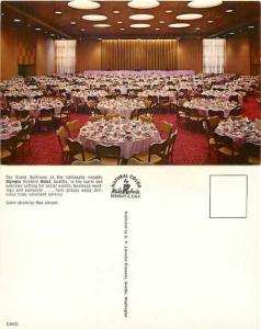 Grand Ballroom, Olympic Western Hotel, Seattle, Washington, Pre-zip Code Chrome