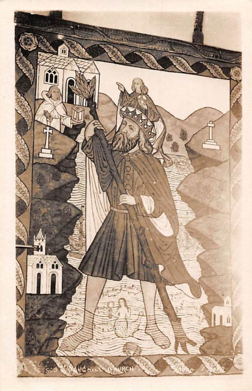 England Poughill St. Olaf's Church, Christian Religious Painting 1922