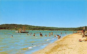 Putnam Indiana~Lieber State Park~Hulman Beach~Diving Platform~Life Guard~1960s