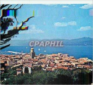 Postcard Modern Saint Tropez (Var) General view