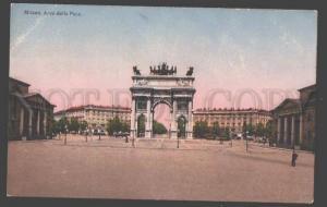104516 ITALY MILANO Arco della Pace MILAN Arc of Peace Vintage