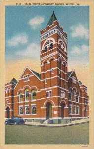 State Street Methodist Church Bristol Virginia