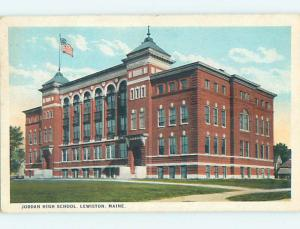 W-Border HIGH SCHOOL Lewiston Maine ME k0432