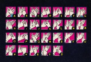 Sign Language , 50-60s