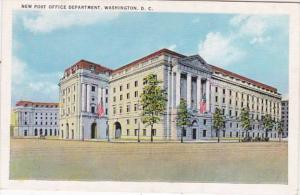 Washington D C New Post Office Department
