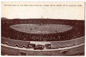 Yale Bowl, New Haven Ct