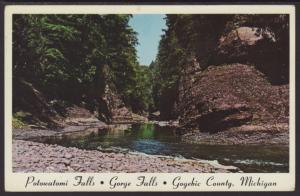 Potowatomi Falls,Gorge Falls,Gogebic County,MI BIN