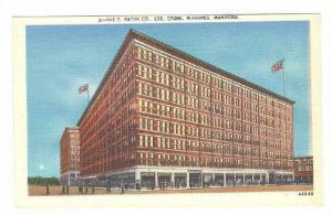 T. Eaton Company, Ltd. Store, Winnipeg, Mannitoba, Canada, 30-40s