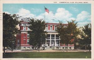 Montana Billings Commercial Club 1927