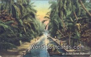 Ceylon, Ceylan, Sri Lanka Negombo Dutch Canal