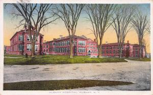 Albany Hospital, Albany, New York, Early Postcard, used