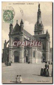 Postcard Old Ste Anne d Auray Basilica