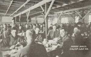 CAMP LEE, Virginia, 1910-20s; Mess Hall