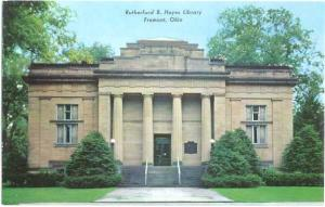 Rutherford B. Hayes Library,  Fremont, Ohio, OH, Chrome