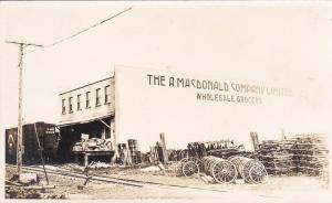 RP:A. MacDonald , Grocery Store , NORTH BATTLEFORD , Saskatchewan , 00-10s