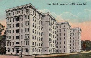 MILWAUKEE, Wisconsin, 1912 ; Cudahy Apartments