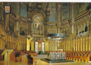 Spain Montserrat Interior de la Basilica
