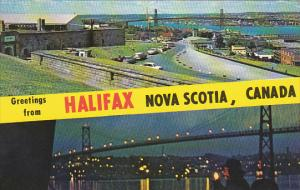 Canada Nova Scotia Halifax Greetings From Halifax Nova Scotia 1972