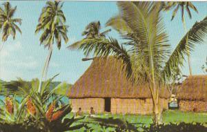 Fijian Bure House Fiji