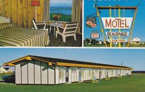 Hotel-Motel Beaurivage , Ste-Anne-des-Monts , Cte GASPE , Quebec , Canada, 40...