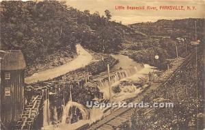 Little Beaverkill River Parksville NY 1912