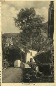 switzerland, WILDERSWIL, Gsteig (1920s) Postcard
