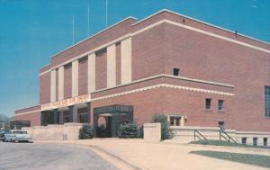 Memorial Auditorium , SPARTENBURG , South Carolina , 50-60s