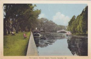 The Lagoon, Centre Island, Toronto, Ontario, Canda, 1900-1910s