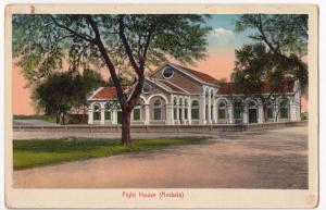 India; Fight House, Ambala PPC Unposted, c1920's, British Raj