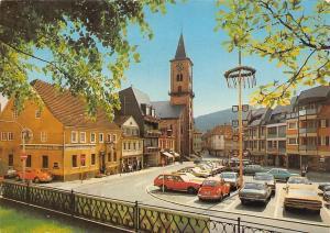 Eberbach im Romantischen Neckartal Neuer Markt und Ev. Kirche