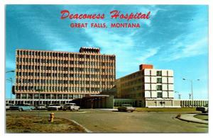 1950s/60s Deaconess Hospital, Great Falls, MT Postcard
