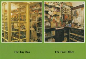 Eastbourne Toy Shop Post Office How We Lived Exhibition Postcard
