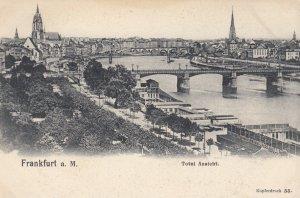 Frankfurt a. Main , Germany , 00-10s ; Total Ansicht