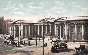 Bank of Ireland Dublin Buses Carriages Statue 1908