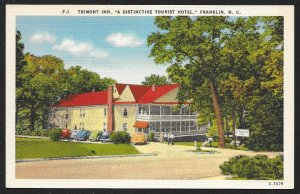 Trimont Inn Franklin North Carolina Unused c1950s