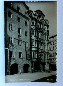 RPPC Innsbruck Austria Helblinghaus Postcard