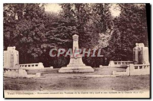 Old Postcard Toul Picturesque Dedicate Monument to the Victims of War 1911 19...