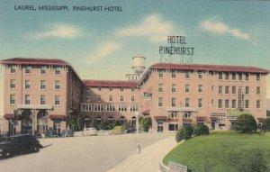 LAUREL , Mississippi , 30-40s;Pinehurst Hotel
