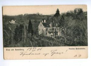 173542 AUSTRIA Graz am Rosenberg Pension Grabenhofen Vintage