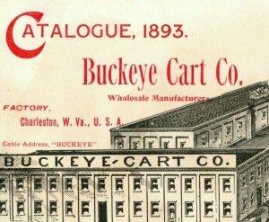 1893 World's Fair Buckeye Cart Co. (7 Piece) Catalogue German Fair Edition 7J