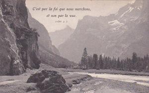 France , 00-10s : C'est par la foi que nous marchons, et non par la vue.
