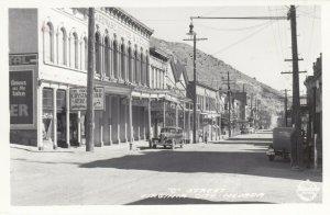 RP: VIRGINIA CITY , Nevada , 1930-40s ; O Street ; FRASHERS Photo