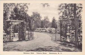 New York Oscawana Entrance Gate Valeria Home Albertype