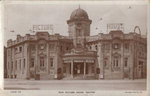 Halifax Yorkshire Old Picture House Cinema Real Photo Postcard